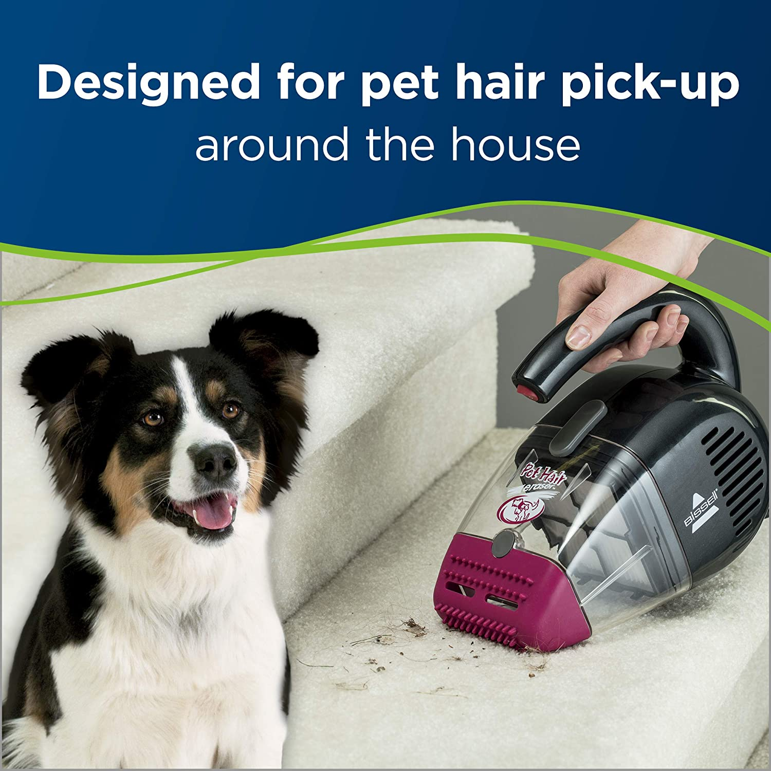 Click image to open expanded view Bissell Pet Hair Eraser Handheld Vacuum
