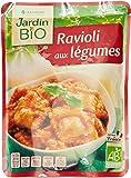 Jardin Bio Ravioli aux Légumes Sachet Express 250 g - Lot de 3