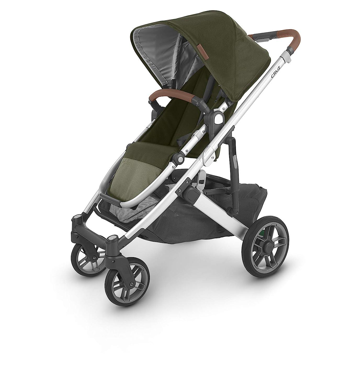 Cruz V2 Stroller - Hazel (Olive/Silver/Saddle Leather)