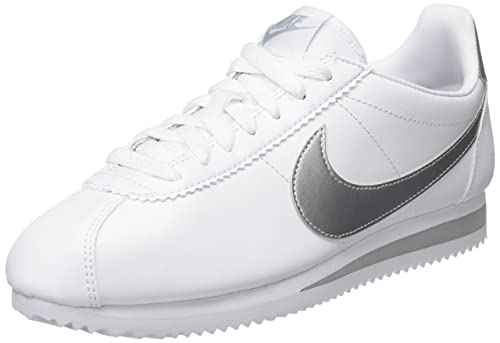 Nike Classic Cortez Leather, Zapatillas de Estar por casa para Mujer: Amazon.es: Zapatos y complementos