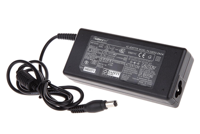 Batterytec® 19.5V 4.62A 90W Cargador portátil para Toshiba Qosmio ...