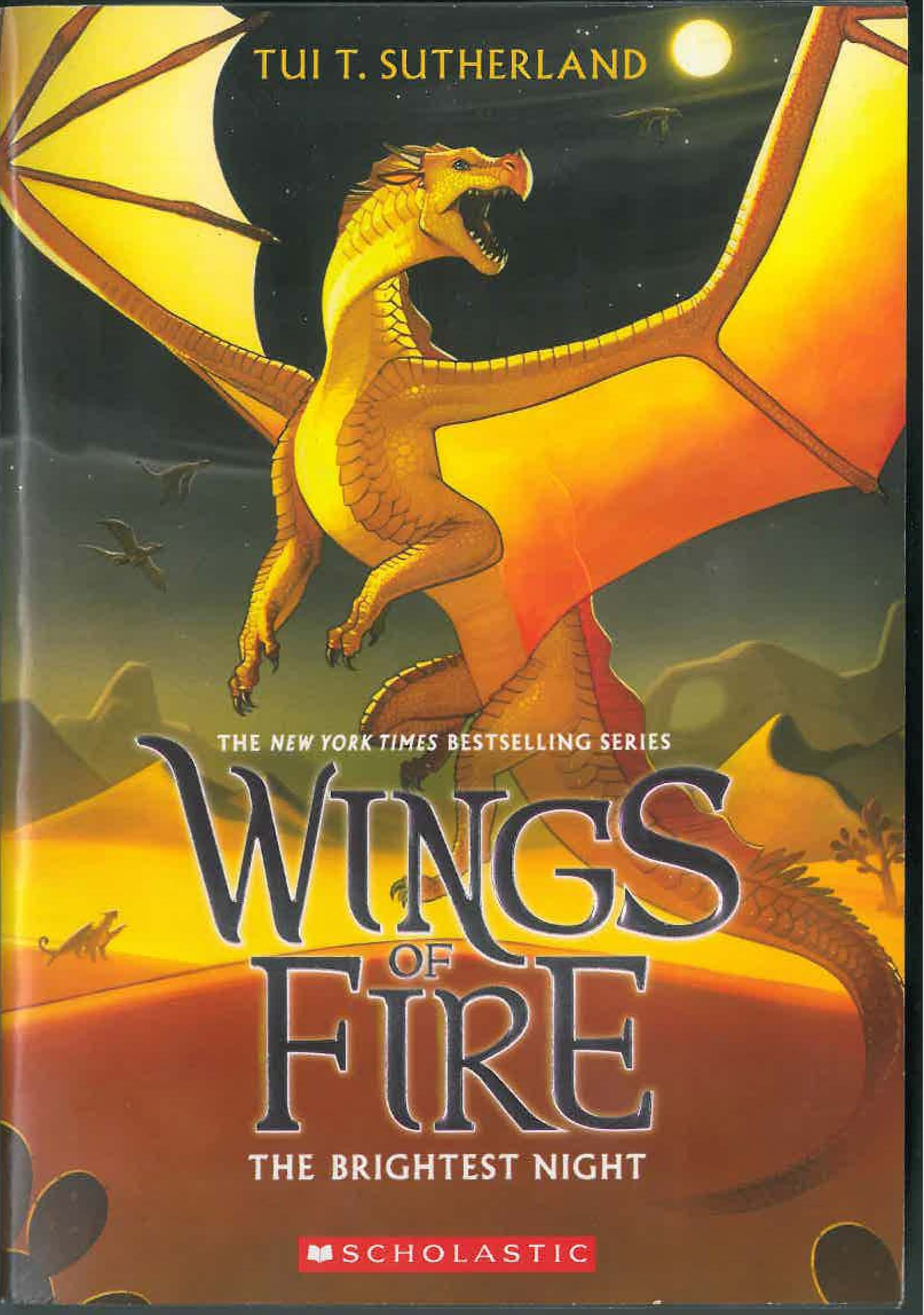 Wings Fire Book Five Brightest product image