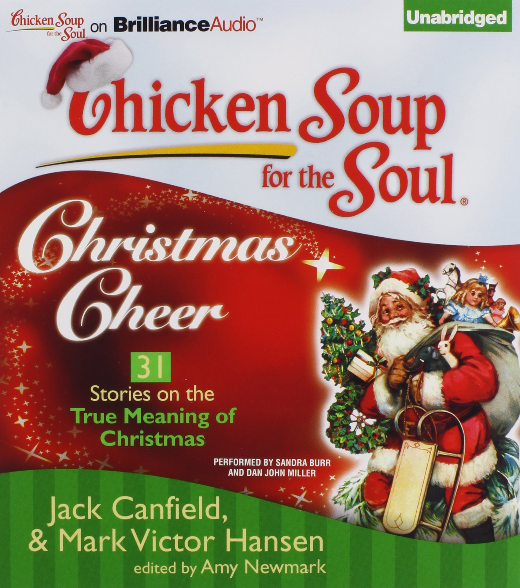 chicken soup for the soul its christmas canfield jack hansen mark victor newmark amy