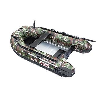 ALEKO btf250 cm Pro barco de pesca Balsa 8.4 pies con suelo de ...