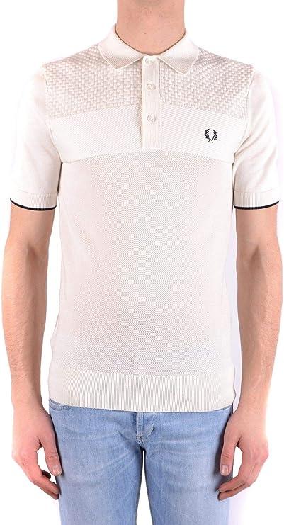 Fred Perry - Polo para hombre - Blanco - talla de marca S INT ...