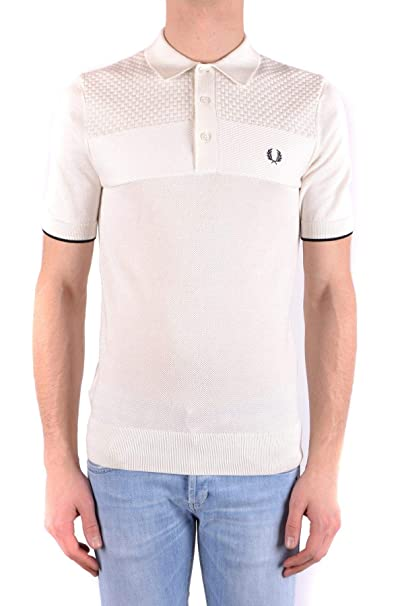 50% price where to buy the sale of shoes Amazon.com: Fred Perry Luxury Fashion Mens MCBI32402 White ...