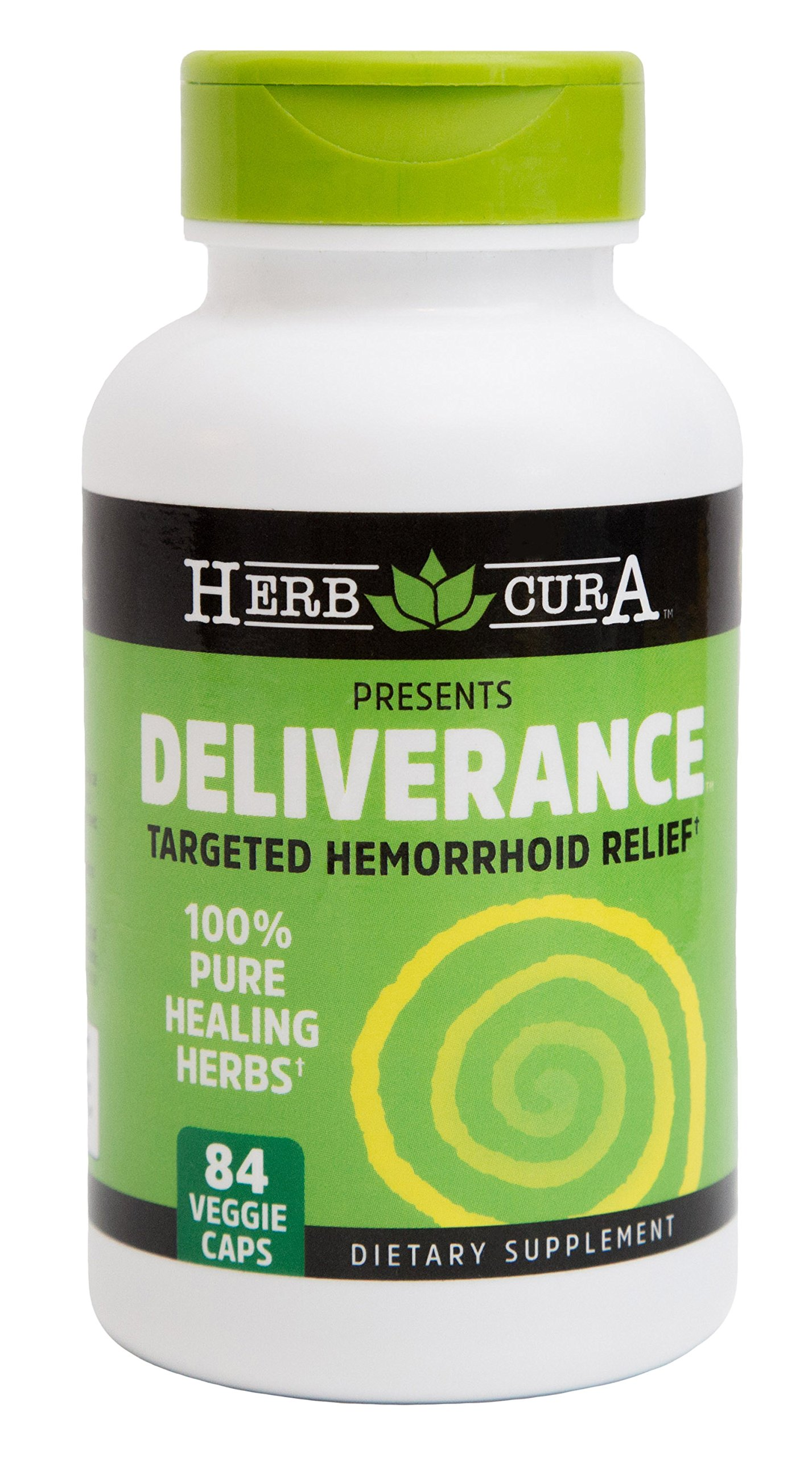Herbcura's Hemorrhoid Treatment DELIVERANCE for Hemorrhoid, Hemorrhoids & Piles. Natural Hemorrhoid Treatment.