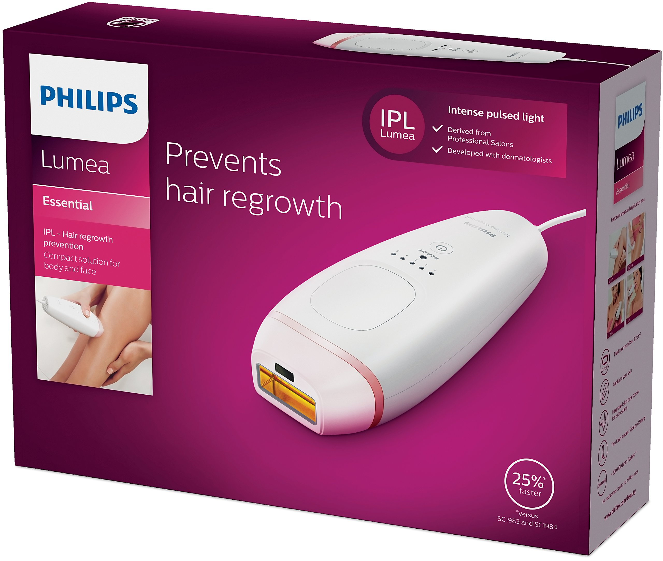 Philips Lumea Essential Ipl Hair Removal Buy Online In India At