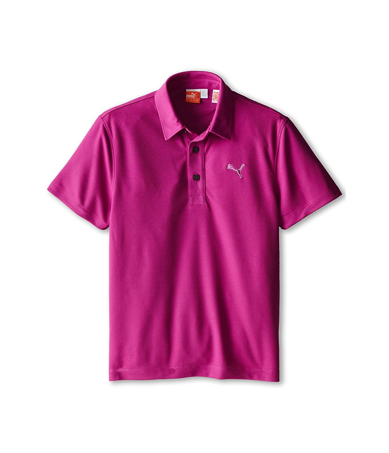 [プーマ] PUMA Golf Kids ボーイズ Tech Polo (Big Kids) トップス [並行輸入品] XL (18-20 Big Kids) Vivid Viola B01D2CYYPE