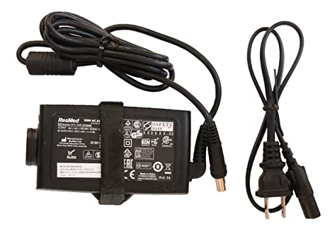 AC DC Adapter For Resmed S10 Series ResMed Airsense 10 Air sense S10  AirCurve 10 Series CPAP and BiPAP Machines,90W Resmed S10 370001  Replacement