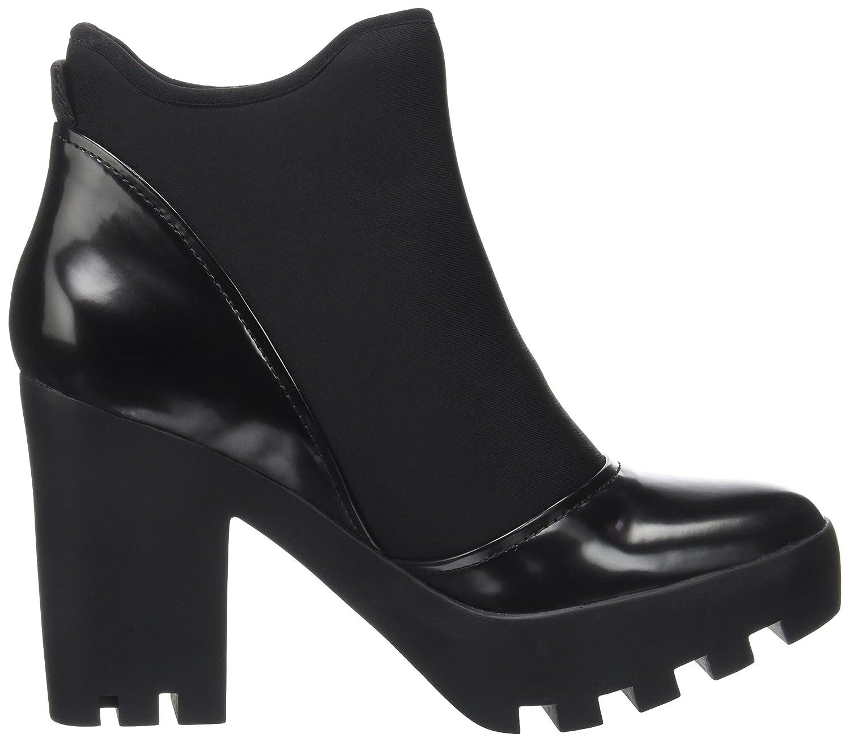 17db65cb35d74 Calvin Klein Women s Sibyl Neoprene Box Smooth Boots  Amazon.co.uk  Shoes    Bags