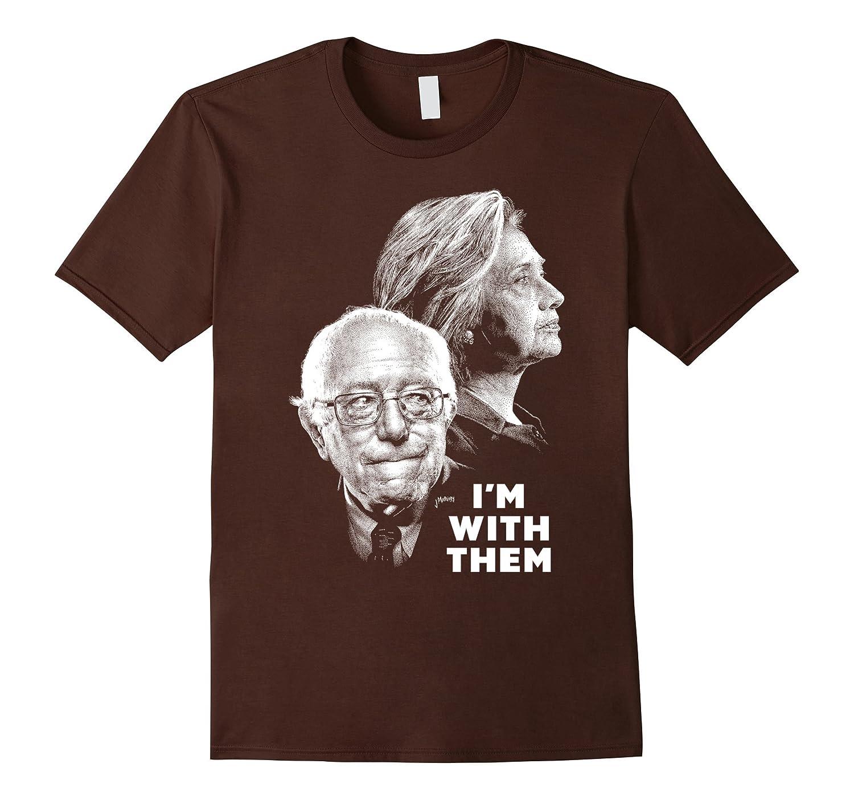 Hilary Clinton Bernie Sanders 2016 T-shirts-BN