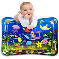 Infinno Inflatable Tummy Time Mat Premium Baby Water Play Mat for Infants and Toddlers Activity Play Center Baby Toys 3…