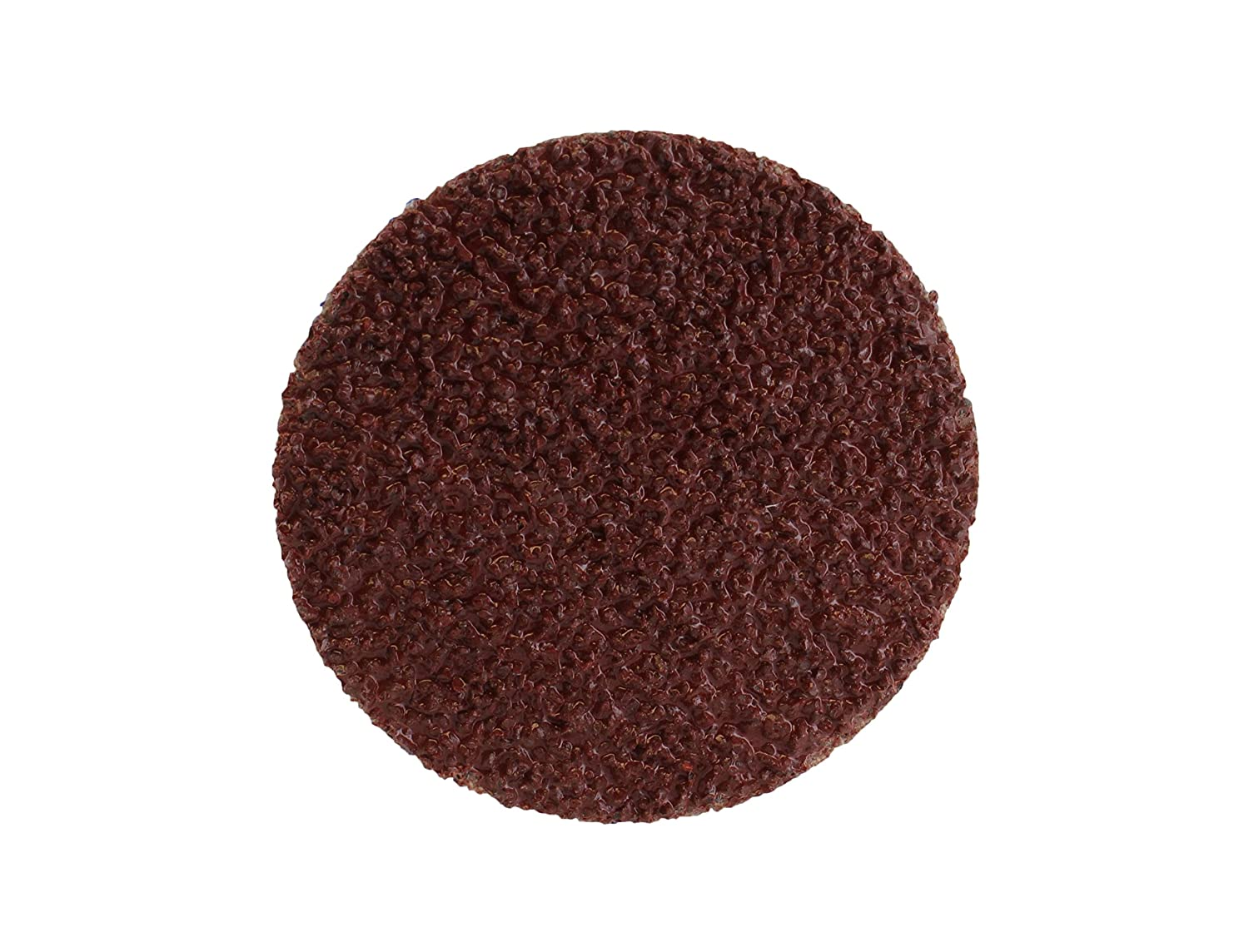 """Metal Wheels for Surface Prep and Finishing 36 Grit ABN Aluminum Oxide Roloc Abrasive Sanding Discs 50-Pack 2/"""" Inch"""