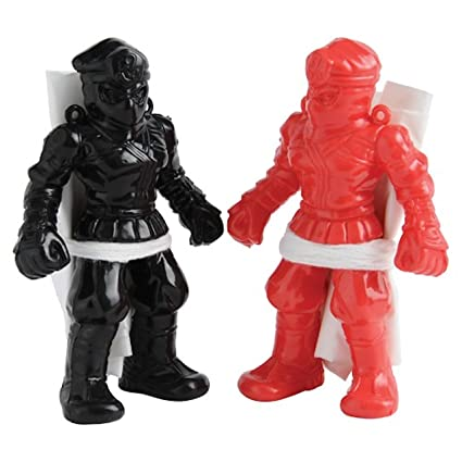 Amazon.com: Lot Of 12 Assorted Color Large Toy Ninja ...