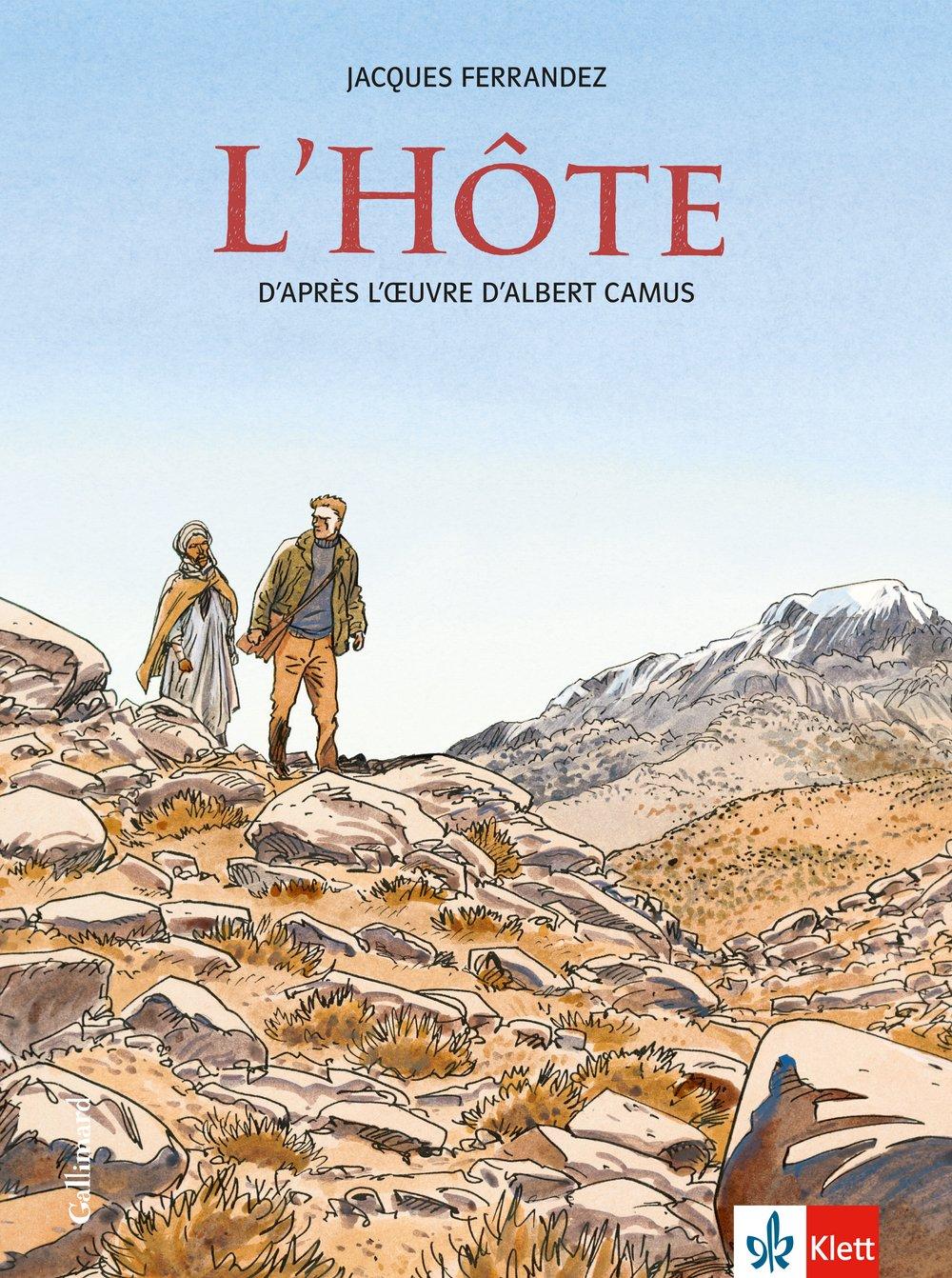 L'Hôte: Schulausgabe für das Niveau B2. Französische Bande dessinée mit Annotationen