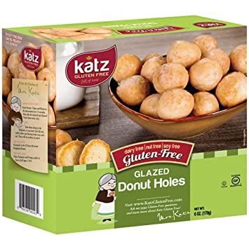 What Kind Of Nut Has A Hole >> Katz Gluten Free Glazed Donut Holes Dairy Nut Soy And Gluten