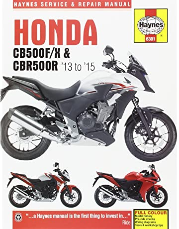 Honda CB500F/X & CBR500R (13-15) Haynes Repair Manual (Haynes
