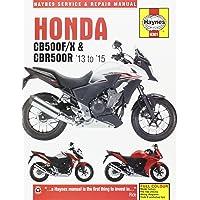Honda Cb500f/X & Cbr500r, '13-'15 (Haynes Service and