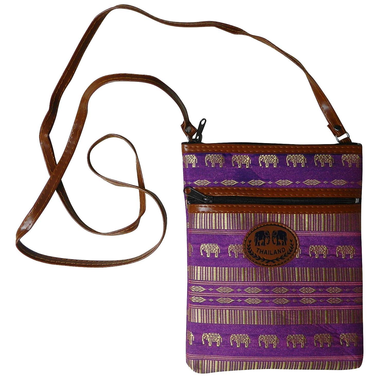 Amazon.com: Thai hecho de las mujeres Stripes & Elefantes ...