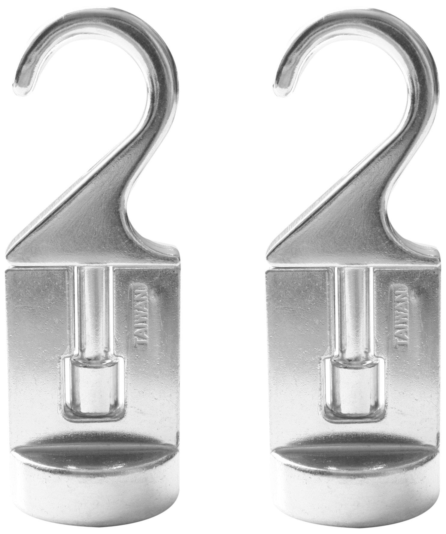 Cooks Standard Swivel Pot Rack Solid Cast Swivel Hooks, Set of 2
