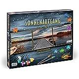 Schipper -609470754 - Numéro d'Art - Lever du Soleil Sur Le Ponton du Lac - Triptyque