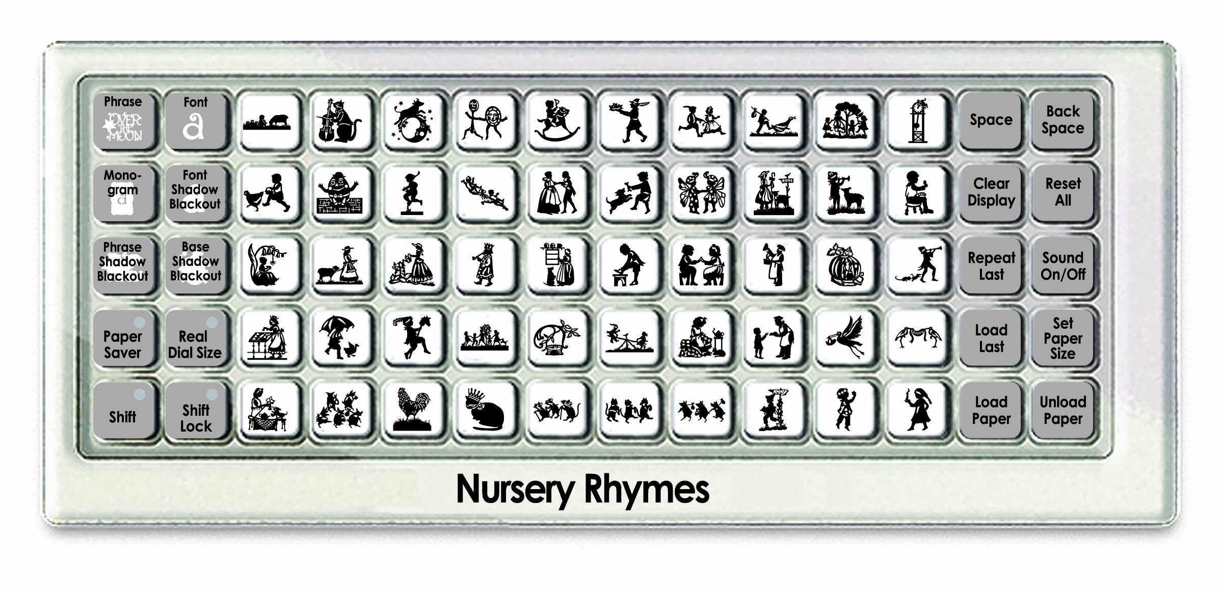 Cricut Cartridge, Nursery Rhymes by Cricut (Image #2)