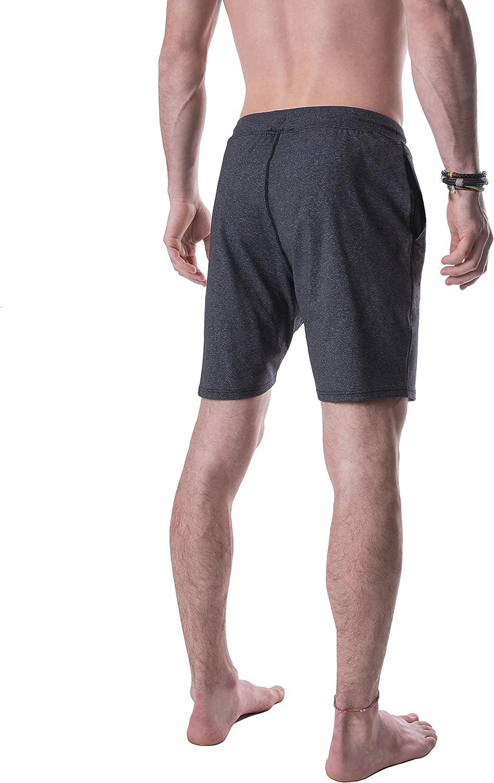 YOGA CROW Mens Swerve Shorts w//Odor-Resistant Inner Liner