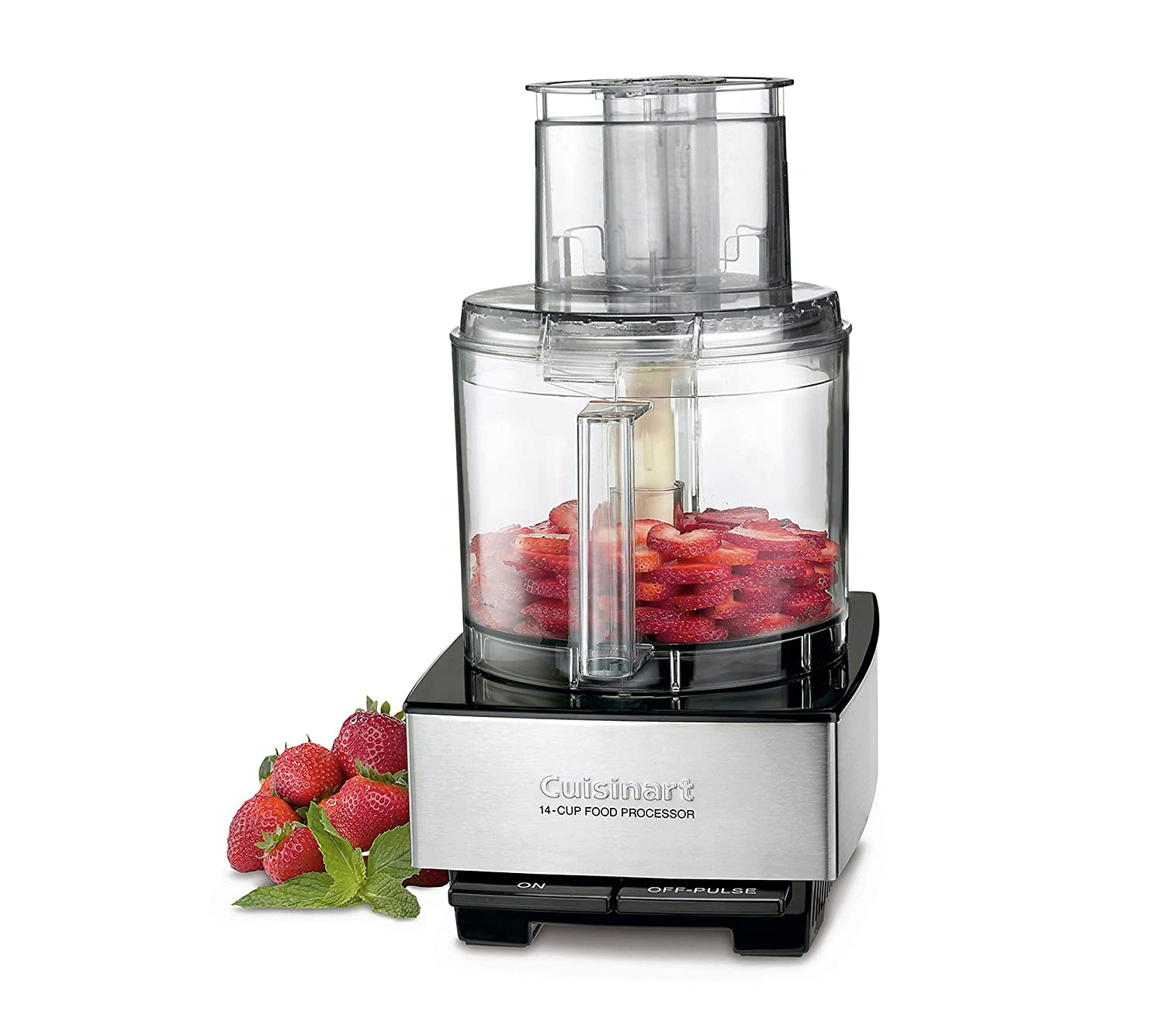 Cuisinart 14-Cup Food Processor Silver