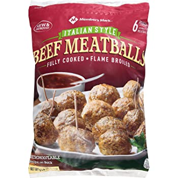 Evaxo Italian Style Beef 6-lb Frozen Meatballs