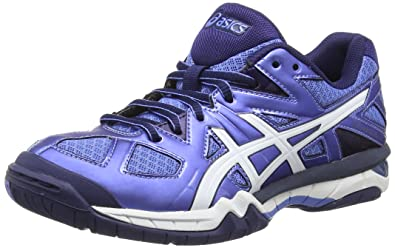 meet 93680 63239 ASICS Gel-Tactic, Women s Volleyball Shoes, Blue (Powder Blue White