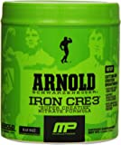 Muscle Pharm Arnold Schwarzenegger Iron CRE3 Creatine, Blue Razz 4.44oz