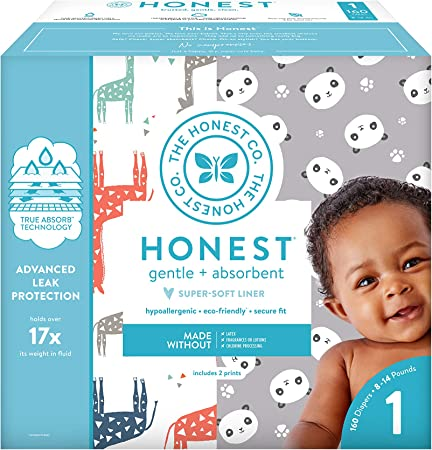 The Honest Company Super Club Box Diapers - Size 1