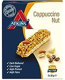 Atkins DB Nut Cappuccino Barritas - Paquete de 5 barritas x 30 gr - Total: 150 gr