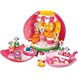 Hello kitty hti maison de poup e hello kitty transportable inclus 3 figurines hello kitty - Maison de poupee hello kitty ...