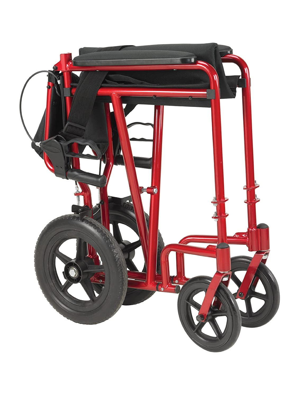 Transport chair amazon - Amazon Com Drive Medical Lightweight Expedition Transport Wheelchair With Hand Brakes Blue Health Personal Care