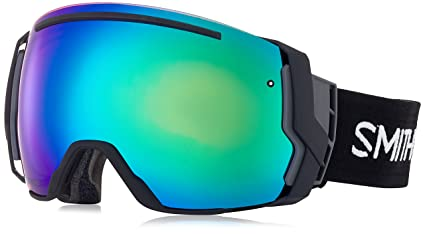 6bfea583c661 Image Unavailable. Image not available for. Color  Smith I O 7 2018 Goggles  Black ChromaPop Everyday Green Mirror
