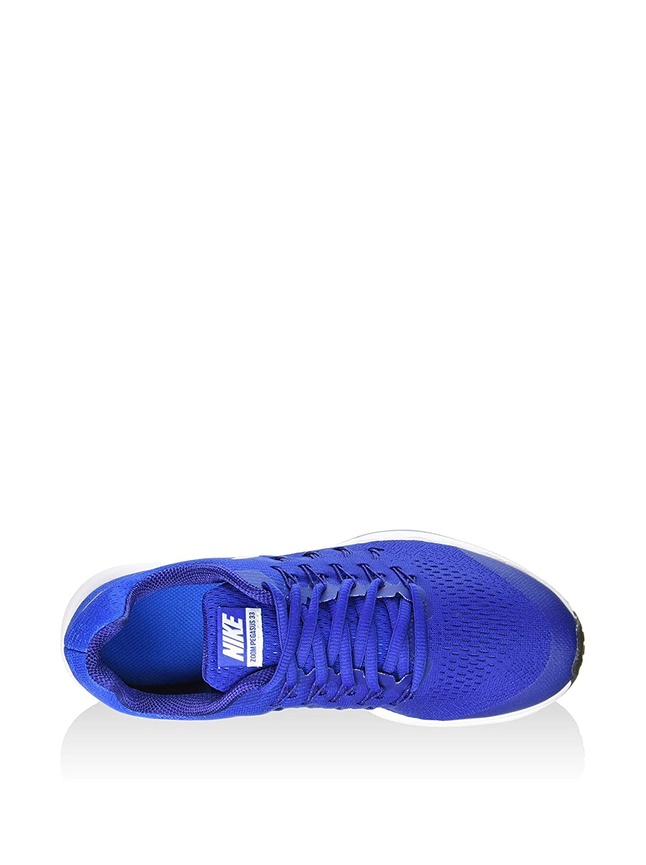 premium selection 183f4 b0df6 Amazon.com   Nike Boys  Zoom Pegasus 33 (Little), Game Royal Photo Blue Deep  Royal Blue Metallic Silver, 6.5 Big Kid M   Sneakers