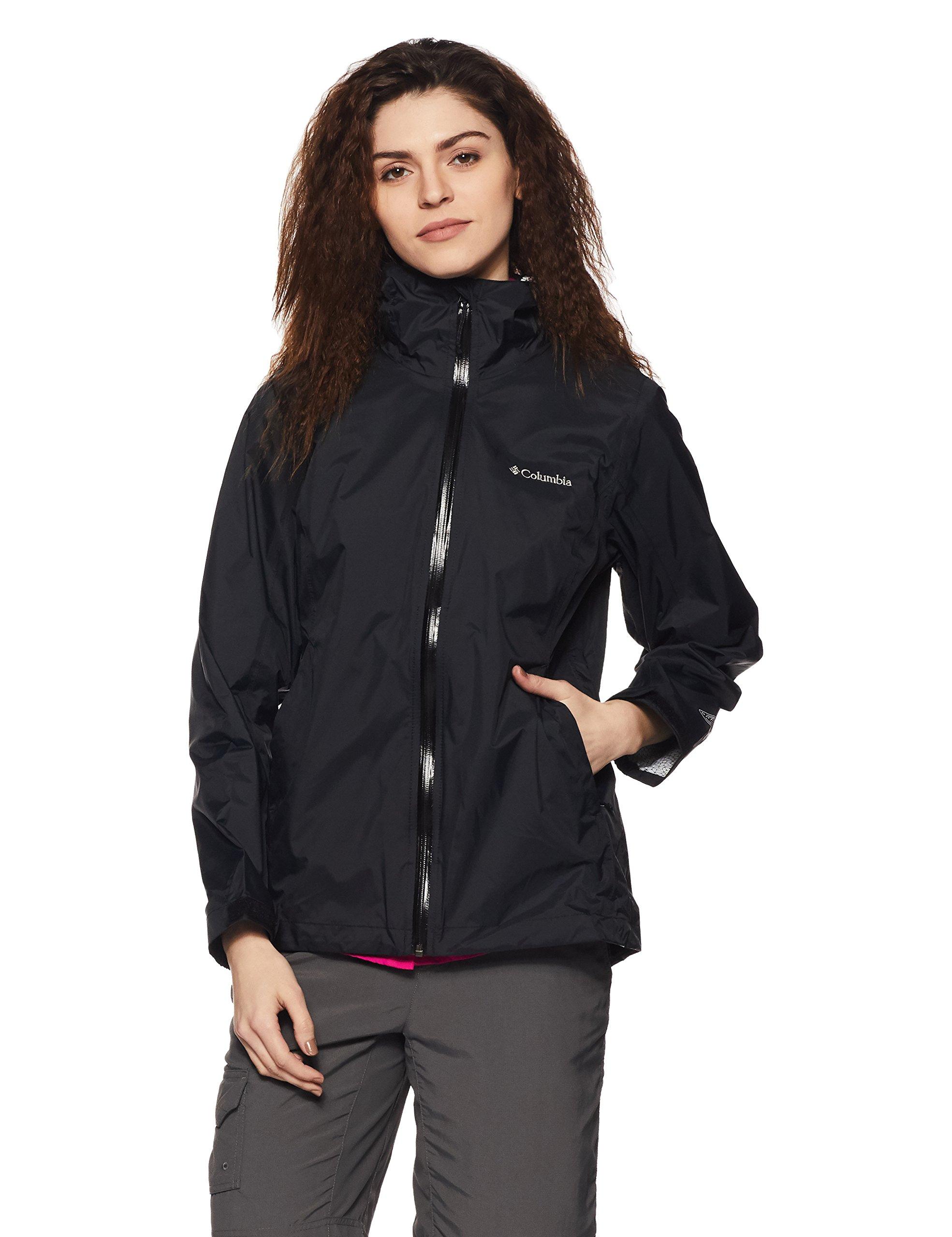 Columbia Women's Evapouration Jacket, Black, X-Small