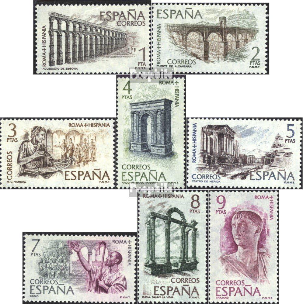 kompl.Ausg. Briefmarken f/ür Sammler Prophila Collection Spanien 2079-2086 1974 Rom-Spanien