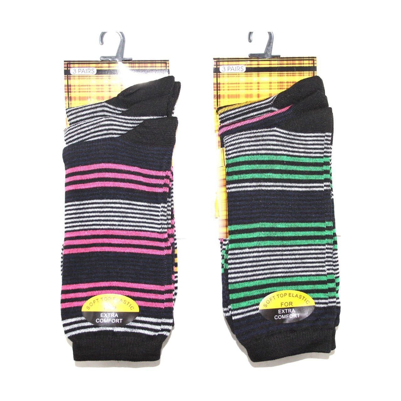lot de 6 Robelli Chaussettes de m/élange de coton pour homme/ /25/Designs