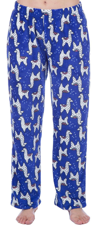 Selena Secrets Ladies Soft Fleece Unicorn//Llama Lounge Pants