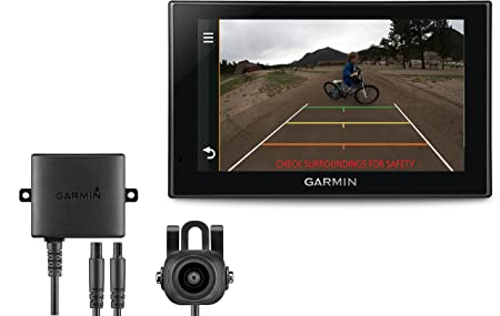 Garmin Camper 660LMT-D EU + BC 30 - Navegador GPS para caravanas con cámara Trasera BC 30