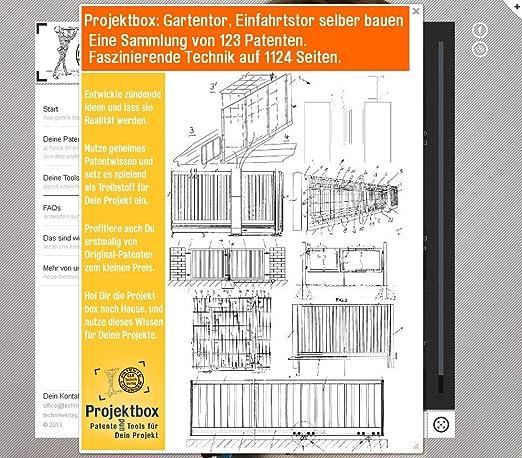Gartentor Einfahrtstor Selber Bauen Deine Projektbox Inkl 123