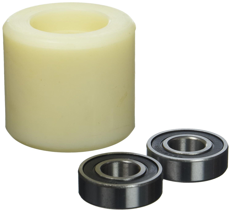 Sourcingmap a11102700ux0052-80 mm de diámetro de color beige rueda de nylon de longitud 70mm de transpaleta: Amazon.es: Bricolaje y herramientas