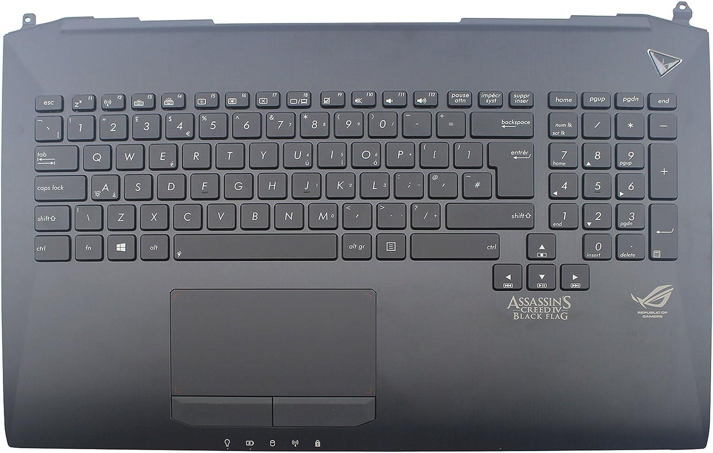 NEW for ASUS G750J G750JH G750JM G750JS KEYBOARD US No Frame for backlit
