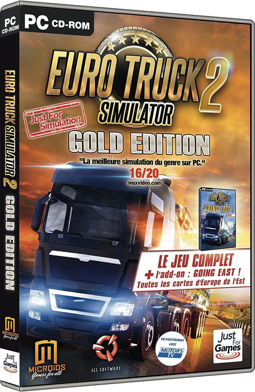 Euro Truck Simulator 2 - Edition Gold [Importación Francesa]: Amazon.es: Videojuegos