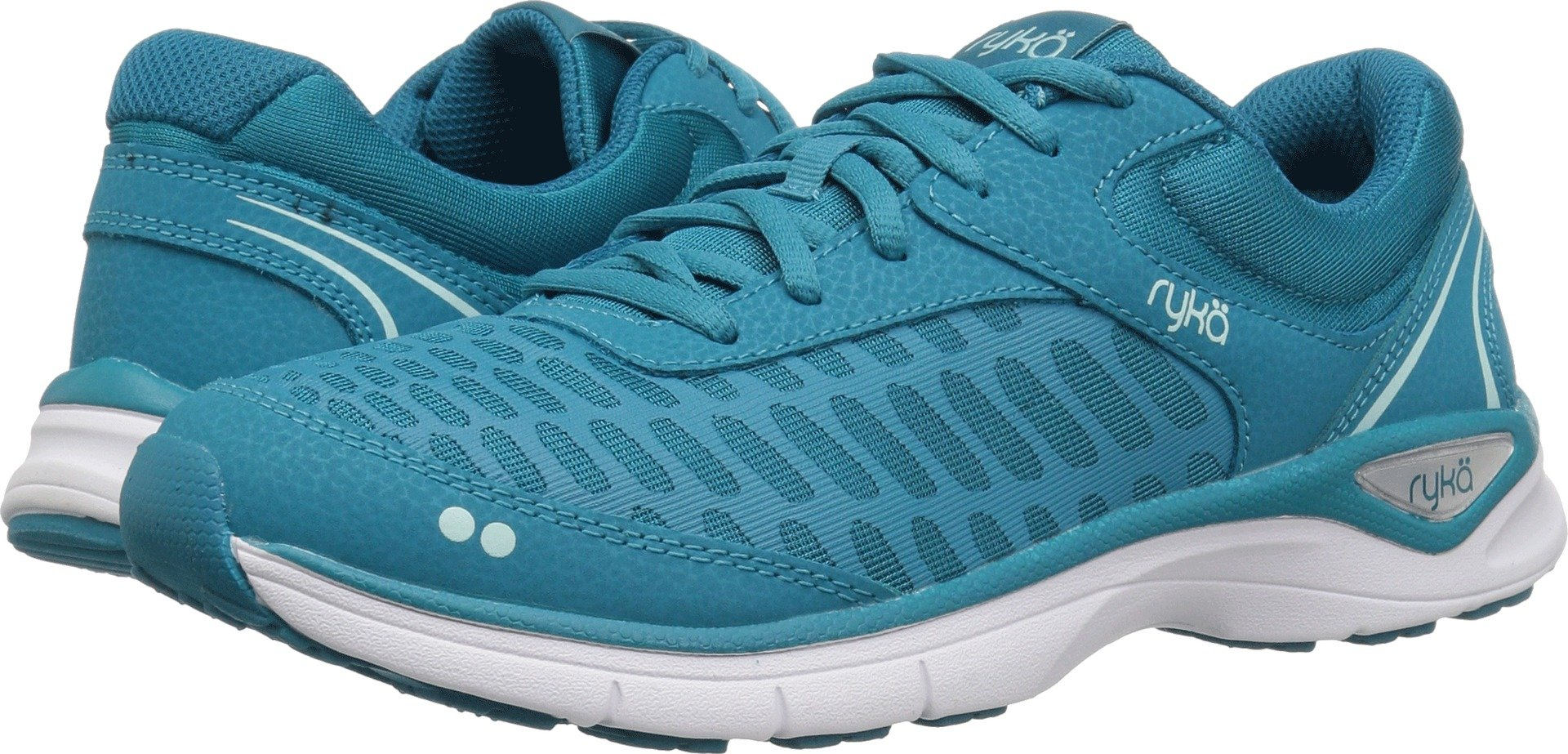Ryka Women's Rae Walking Shoe, Blue, 7.5 M US