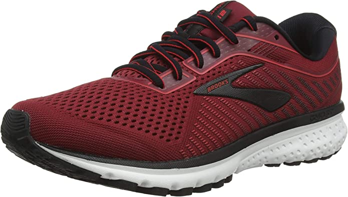Brooks Ghost 12 Sneakers Laufschuhe Herren Rot (Red Biking)