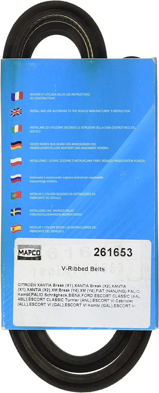 MAPCO V-Ribbed Belts 261653